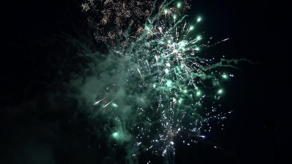 Des feux d'artifices pour le 14 juillet à Hundling