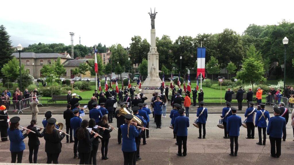 Commémoration du 14 juillet à Sarreguemines