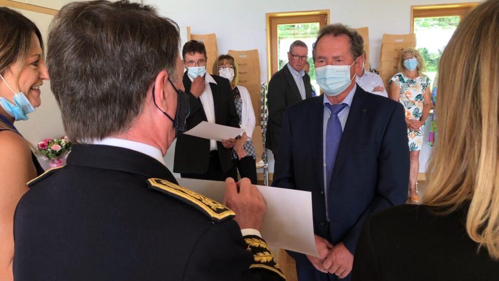 Fête nationale à Schweyen : les anciens élus mis à l'honneur