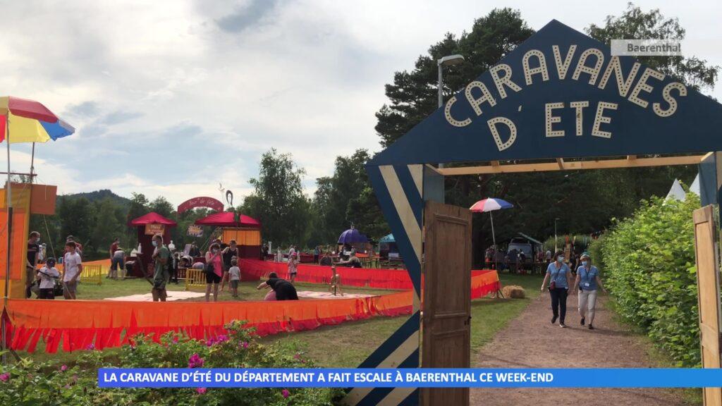 La caravane d'été du département a fait escale à Baerenthal