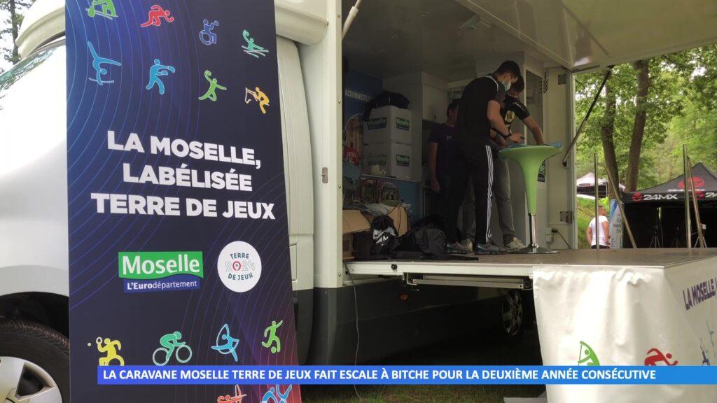 La caravane Moselle Terre de Jeux fait escale à Bitche pour la deuxième année consécutive