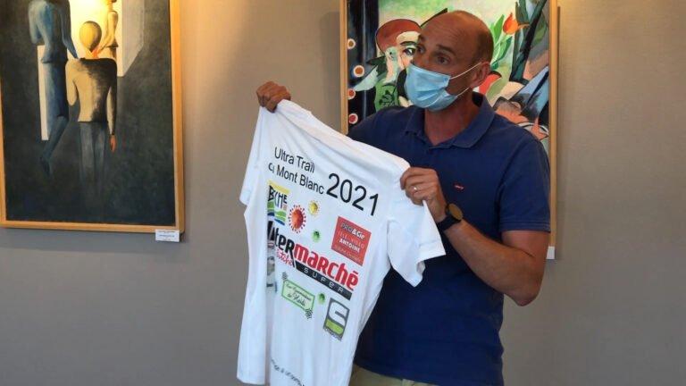 Avant l'Ultra Trail, Martin Delaere remercie ses sponsors