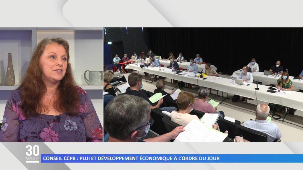 Conseil CCPB: Développement économique et PLUI à l'ordre du jour