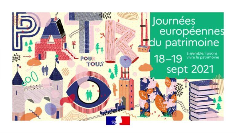 Le programme des Journées Européennes du Patrimoine sur l'arrondissement