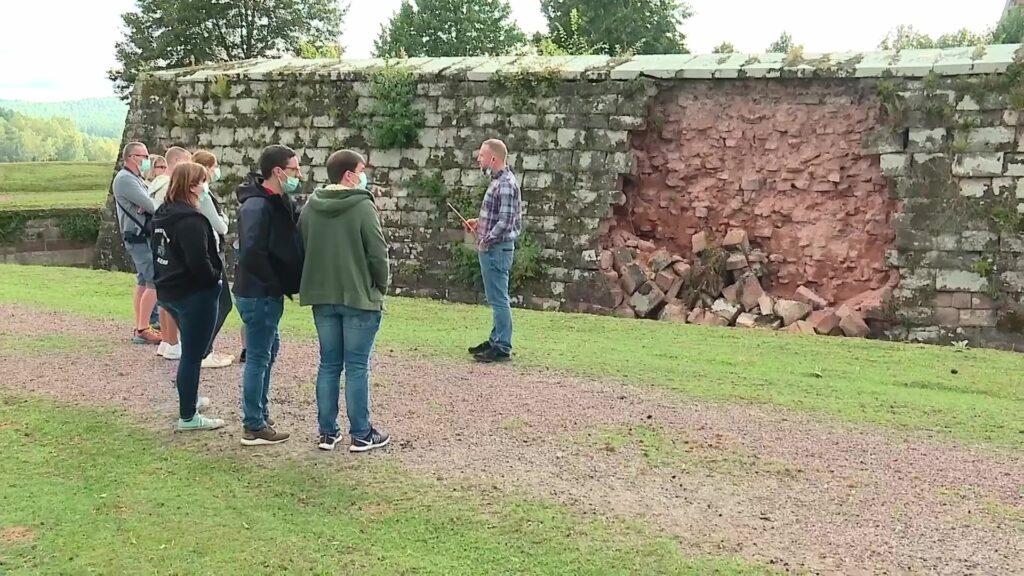Visite du chantier de la Citadelle