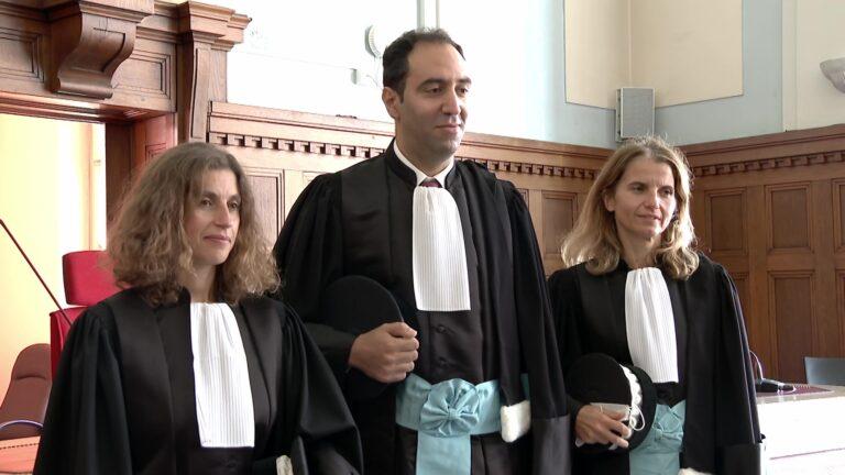 Le tribunal fait sa rentrée et présente ses nouveaux arrivants