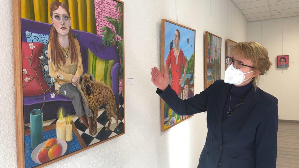 L'art figuratif d'Elke Thiébaut s'expose à Bitche